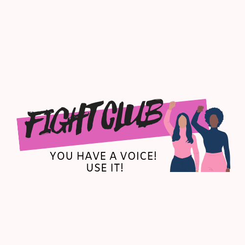You have a voice! Useit!